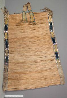 Kiowa backrest.  NMNH   ac