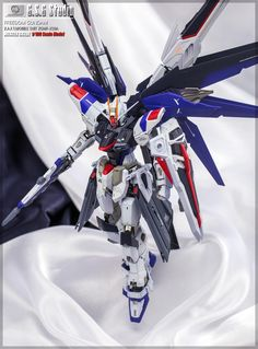 MG 1/100 Freedom Gundam Ver. 2.0 - Painted Build     Modeled by G.S.G. Studio