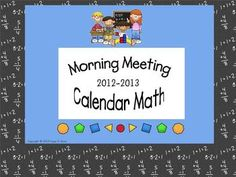 This is a zip file that contains a SMART Notebook file (for SMART Boards) and an ActivInspire file (for Promethean Boards) with activities for Morn...
