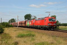 Trains and locomotive database and news portal about modern electric locomotives, made in Europe. Db Ag, Electric Train, Electric Locomotive, Engineering, German, Europe, The Unit, Adventure, Trains