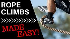 Rope Climb Technique (How To Wrap Your Feet)