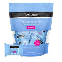 Neutrogena Makeup Remover Facial Cleansing Towelette Singles Daily Face Wipes to Remove Dirt Oil Makeup & Waterproof Mascara Gentle Alcohol-Free Individually Wrapped 20 ct Neutrogena Makeup Remover, Best Makeup Remover, Makeup Remover Wipes, Makeup Wipes, Makeup Removers, Makeup Bags, Beige Blond, Waterproof Mascara, Facial Cleansing