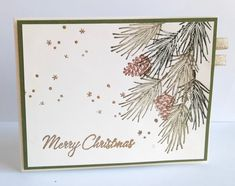 I really love the traditional pine bough approach to Christmas creations ... and this one from Kim (Luv Flowers) is a timeless example.