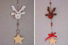 Rudolph hangers (met link naar gratis patroon)