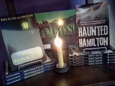 Haunted Hamilton on the shelves of The Haunted Shop in Niagara on the Lake