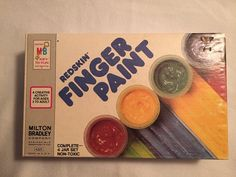 Who remembers these fantastic finger paints?!!