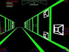 Star Wars arcade game.