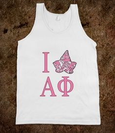 Alpha Phi Lilly Tank