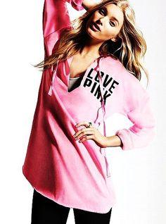 Tunic Hoodies For Women - Pink Hoodies For Women