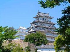 世界遺産姫路城(白鷺=はくろじょう、しらさぎじょう)