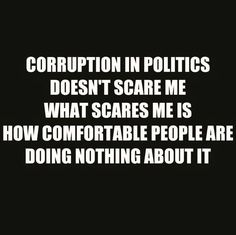 corruption in politics is a given now days but the fact that the majority of the american people are willing to not only put up with it but possibly vote it in is just mind boggling !