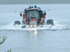 FARM SHOW - Floating Tractor Hits The Market