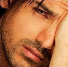 A man with a heart can cry... and not feel emasculated,