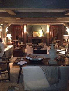 Prohibition room: Circa Interiors, Patrick Lewis and Cindy Smith
