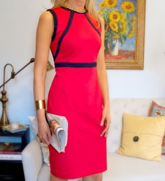 The Classy Cubicle: Perfectly Piped. The fashion blog for young professional women who need office style inspiration and work wear ideas for the corporate world.   Can't beat a perfect sheath dress!!!!
