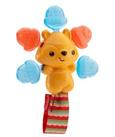 Amazon.com : Fisher-Price Clickity-Clack Rattle, Acorn Squirrel : Toys & Games