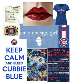 """Sweet home Chicago ♡♡♡"" by kotnourka ❤ liked on Polyvore featuring art"