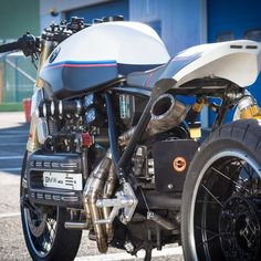 BMW K1100 Cafe Racer By De Angelis Elaborazioni #motorcycles #caferacer #motos | caferacerpasion.com