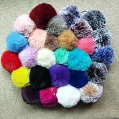 Find More Key Chains Information about 27 Colors 8cm Big Faux Fur Pompom Keychian Silver Keyring Cute Car Bag Charm Key Chain Fluffy High Quality Pom Pom Llaveros,High Quality pom pom llavero,China key chain fluffy Suppliers, Cheap key chain from Tassel & Accessories Store on Aliexpress.com Fluffy Rabbit, Fur Keychain, Chain Messages, Pom Pom Rug, Textiles, Rabbit Toys, Cute Cars, Accessories Store, Faux Fur