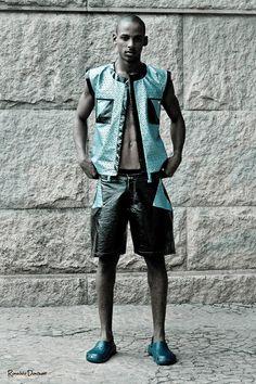 Estilista: Estevão Goes - Fashion Mob 2012 - modelos: Elian Gallardo models -  fotos: Ronaldo Donizeti - Makhair: Tati de Souza
