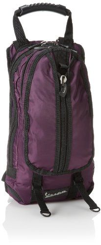 Vespa Mens Nylon Mini Basic Backpack Bag Purple ** Check this awesome product by going to the link at the image.Note:It is affiliate link to Amazon.