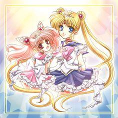 chibiusa tsukino princess luna p sailor mini chibi moon