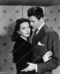 photo Hedy Lamarr Jimmy Stewart Come Live With Me 2579-15