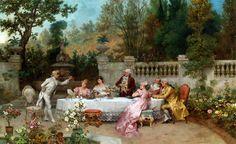 The Betrothal - Francesco Beda    19th century
