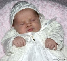 Fairy Princess in Christening Gown