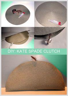 DIY Kate Spade clutch
