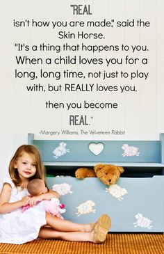 Velveteen Rabbit Quote 14 Favorite Quotes from Childrens Books