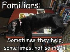 Familiars | sometimes they help | sometimes not so much