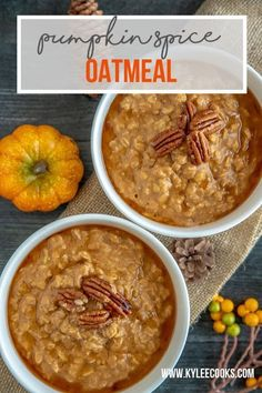 Fall with this warm, deliciously spiced pumpkin oatmeal. Simple to make and so hearty, your breakfast just got a makeover! Embrace Fall with this warm, deliciously spiced pumpkin oatmeal. Simple to make and so hearty, your breakfast just got a makeover! Pumpkin Waffles, Spiced Pumpkin, Pumpkin Oatmeal, Pumpkin Recipes, Fall Recipes, Pumpkin Spice, Delicious Recipes, Frugal Recipes, Amazing Recipes