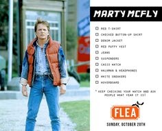 Go back to the future as Marty McFly