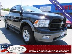 2012 DODGE RAM -- 4WD OUTDOORSMAN Crew-CAB With ONLY 47,287 MILES! -- CALL TODAY! * 757-424-6404 * FINANCING AVAILABLE! -- Courtesy Auto Sales SPECIALIZES In Providing You With The BEST PRICE On A USED CAR, TRUCK or SUV! -- Get APPROVED TODAY @ courtesyautosales.com * Proudly Serving Your USED CAR NEEDS In Chesapeake, Virginia Beach, Norfolk, Portsmouth, Suffolk, Hampton Roads, Richmond, And ALL Of Virginia SINCE 1976!