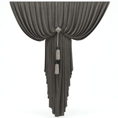 Curtains 3D Obj - 3D Model