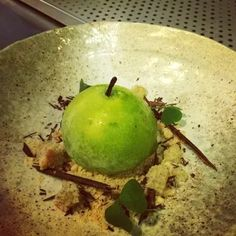 Recipe from Paul Welburn for Toffee Apple Parfait   FOUR Magazine