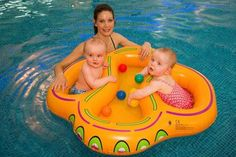 Double Swim Seat - Trends In Twos