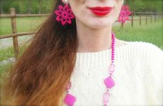 #macramè #orecchini  #bijoux #earrings #blu #white #pastels #outfit #fashionblogger