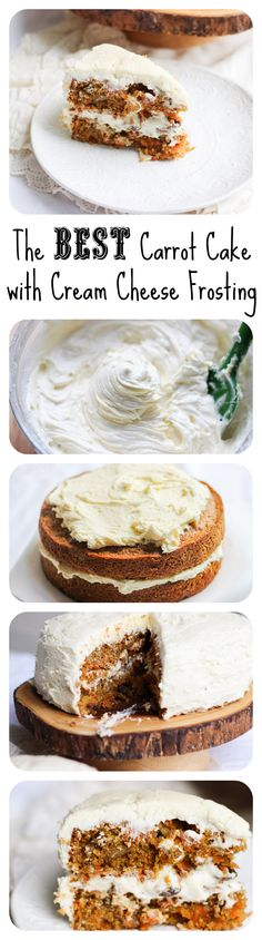 This is THE carrot cake and THE cream cheese frosting. Simply the best. Enough said.
