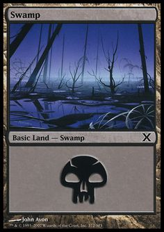 Swamp (1) ($.00) Price History from major stores - 10th Edition - MTGPrice.com Values for Ebay, Amazon and hobby stores!
