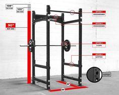 Crossfit gym in garage