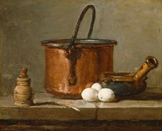 Chardin: Leek & Gruyere Souffle - the link contains info about Chardin and also a recipe!!!