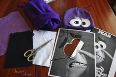 Fear Hat Inside Out Costume Materials
