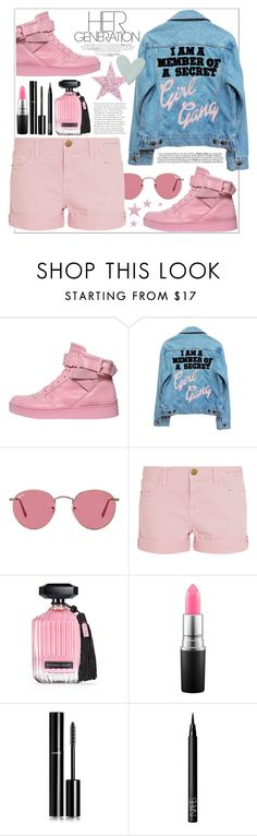 """""""HER generation ♥"""" by teryblueberry ❤ liked on Polyvore featuring Moschino, High Heels Suicide, Ray-Ban, Current/Elliott, Victoria's Secret, MAC Cosmetics, Chanel and NARS Cosmetics"""