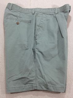 Tommy Bahama Relax 100% Cotton Khaki Shorts Mens Sz 35