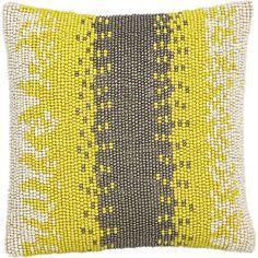 Gypsy Interior Design Dress My Wagon| Serafini Amelia| Travel Trailer-Beaded Pillow in Decorative Pillows | Crate and Barrel