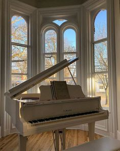 A Project Couple – Married couple continually working on house projects.and living to tell about it. Our piano room and 170 year old windows overlooking our adorable little town. Trim is SW Extra White. Casa Top, Piano Room, Aesthetic Rooms, Beige Aesthetic, Music Aesthetic, Old Windows, Dream Apartment, House Goals, Architecture