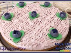 Torta fredda allo yogurt Cameo fatta in casa senza lattosio  #ricette #food #recipes
