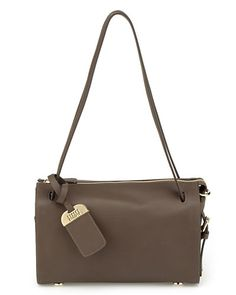 Stuart Weitzman 'Ceopetite' Leather Shoulder Bag